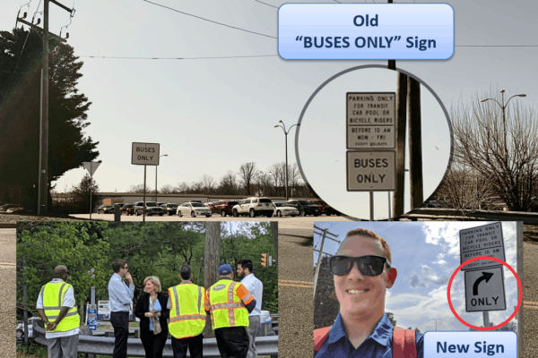 Signs Changed at the Old Hechingers Lot