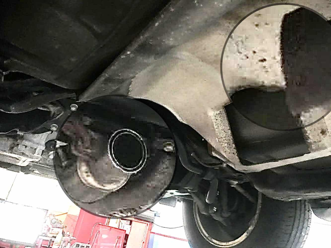 Catalytic Converters Stolen at Horner Road Commuter Lot
